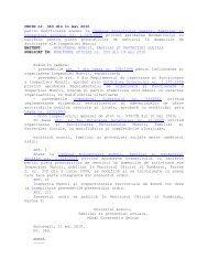 Ordinul MMFPS nr. 363/11 mai 2010 - ITM Sibiu