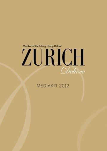 Mediadaten Deutsch - Zurich Deluxe