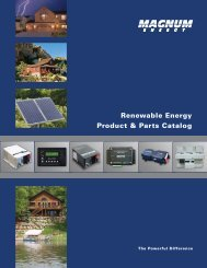 (2012 Renewable Energy Product & Parts Catalog).