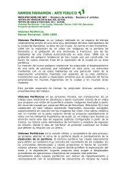 RAMON PARRAMON - ARTE PÚBLICO< - la Caixa