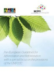Pan-European Guidelines for Afforestation and ... - Forest Europe