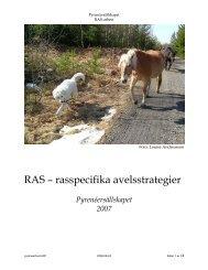 Pyreneersällskapets RAS - Svenska Kennelklubben