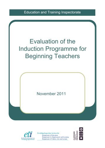 Evaluation of the Induction Programme for Beginning Teachers