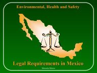 Legal Requirements in Mexico - NAEM