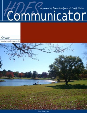 HDFS Communicator, Fall 2008 - Human Development and Family ...