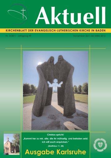 Ausgabe Karlsruhe - Evangelisch-Lutherische Gemeinde