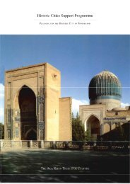166. Planning for the Historic City of Samarkand - Aga Khan ...