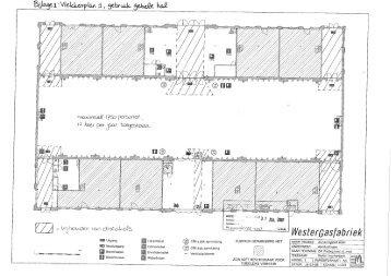 Vlekkenplan Zuiveringshal West - Westergasfabriek