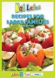 Kai Lelei - Recipes for Large Families - Health Navigator NZ