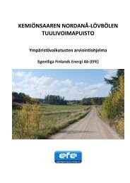 Ympäristövaikutusten arviointiohjelma - ymparisto.fi