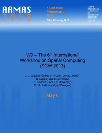 Proceedings W09 Spatial Computing Workshop - Music ...