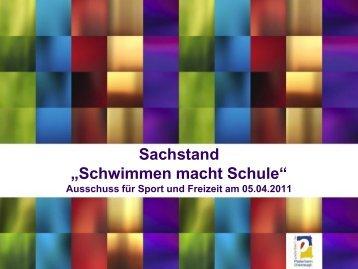 Schwimmen macht Schule.pdf - Stadt Paderborn
