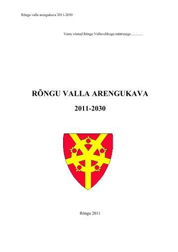 rõngu valla arengukava 2011-2030 - Rõngu Vald
