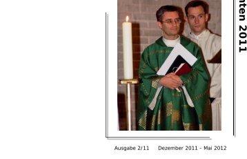 Weihnachten 2011 - Seelsorgebereich St. Karl