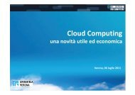 Cos'è il Cloud Computing - API Verona