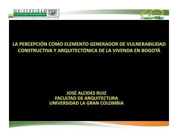 Ponencia Jose Alcides Ruiz.pdf - Universidad La Gran Colombia