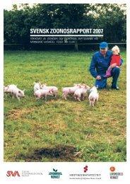 SVENSK ZOONOSRAPPORT 2007 - SVA
