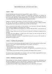 REGLEMENT Jeu Un Fauve en case - SNCF.com