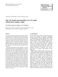 The 3-D model characteristics of a Cb cloud which moves ... - Springer