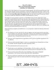 Art Procurement Guidelines 2013 - City Of St. John's