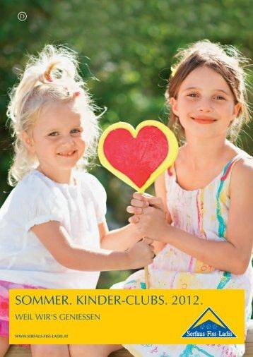 SOMMER. KINDER-CLUBS. 2012.
