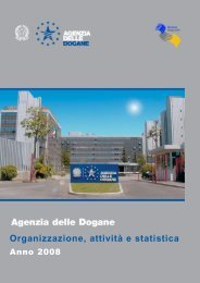 Organizzazione, attività e statistica