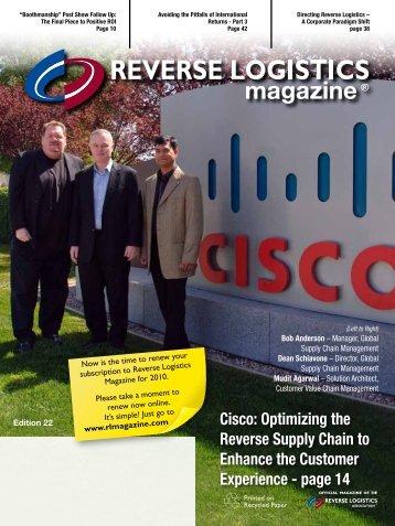 Post Show Follow Up - Reverse Logistics Magazine