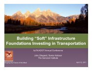 "Building ""Soft"" Infrastructure g Foundations ... - Sonoran Institute"