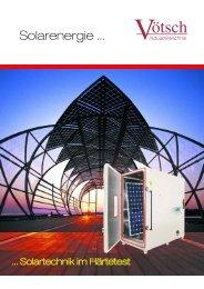 sonnenenergie nur internet 11_2007.qxp - Vötsch Industrietechnik