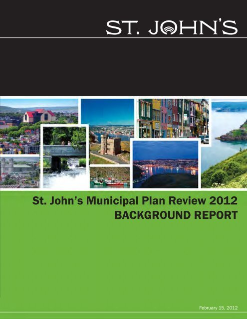 St. John's Municipal Plan Review 2012 ... - City of St. John's