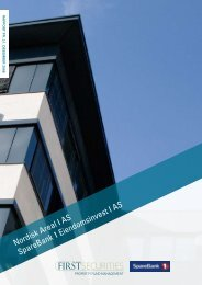 Rapport pr. 31. desember 2008 - Swedbank