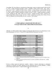 soglasja k sistemizaciji delovnih mest vrtcem v občini ... - Občina Krško