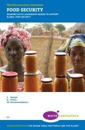 Food Security - Wereld in Woorden