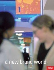 a new brand world - RTKL