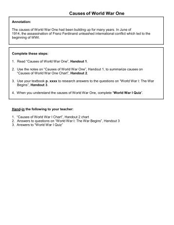 Ww1 Worksheets - Templates and Worksheets