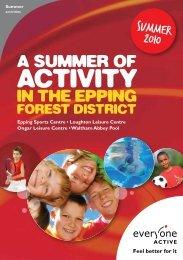 A summer of activity - Everyone Active