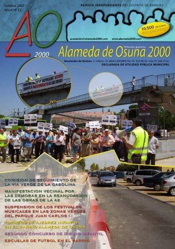 octubre 2007 - Asociación de Vecinos Alameda de Osuna 2000