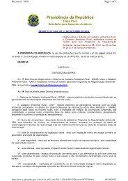 Decreto Nº 7.830, Dispõe sobre o Sistema de Cadastro ... - Udop