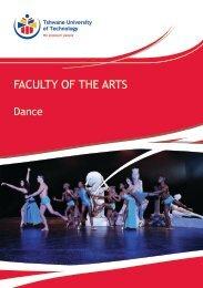 Dance - Tshwane University of Technology