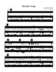 Sheet music, too! (PDF) - Images Press