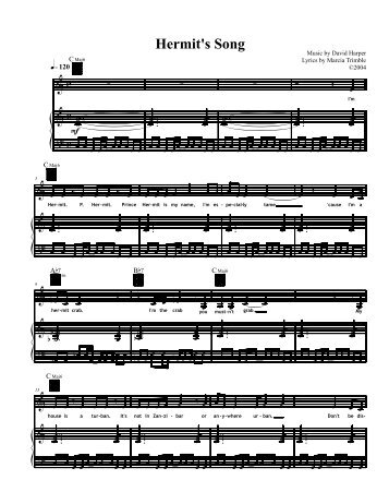 Sheet music, too! (PDF) - Images Press