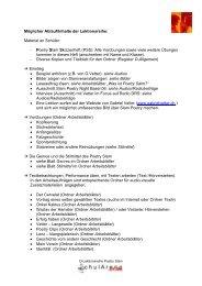 Poetry Slam Skizzenheft - SchulArena-Shop.com