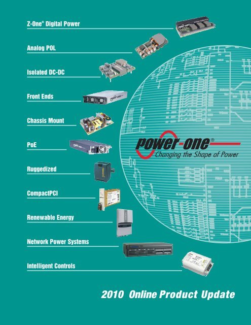 Power-One 2010 Product Update Catalog - Armspower.com