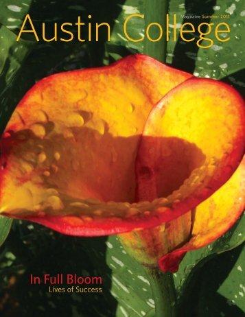 Summer 2011 - Austin College Magazine