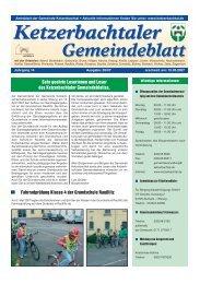 NEU: Ab sofort bieten - Ketzerbachtal