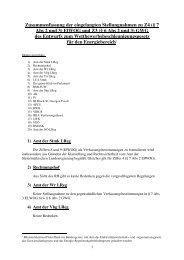 (§ 7 Abs 2 und 3) ElWOG und Z3 (§ 6 Abs 2 und 3)