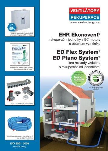 ED Flex System® ED Plano System® - NAJ Klíma sro