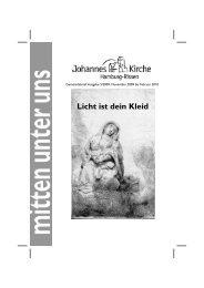 oratorium zum Mitsingen - Johannes-Kirchengemeinde Hamburg ...