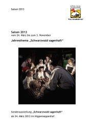 Pressemappe 2013.pdf - Schwarzwälder Freilichtmuseum ...