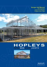 Hopleys Open Web Steel Joists Brochure.PDF - BJH